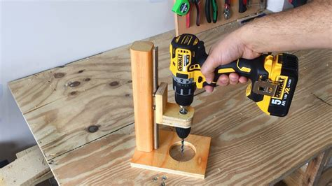 How To Make A Hand Drill Guide