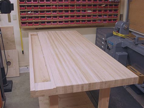 How To Make A Hardwood Workbench Top
