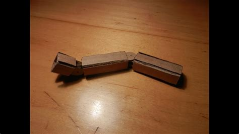How To Make A Hinged Card