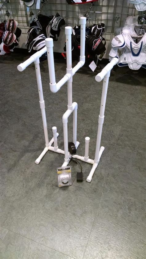 How To Make A Hockey Drying Rack Plans