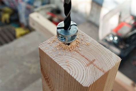 How To Make A Hole In Wood For A Dowel