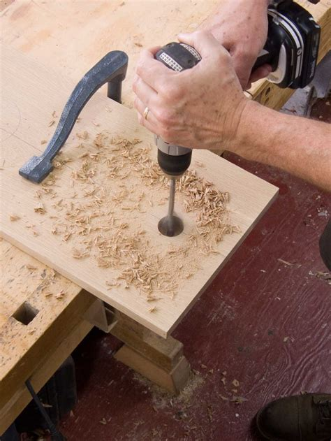 How To Make A Hole In Wood Wider In Dismeter