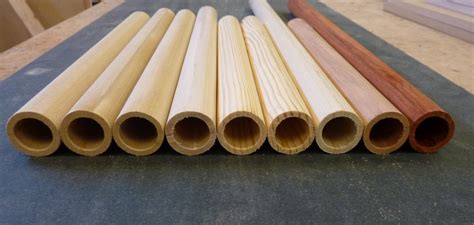 How To Make A Hollow Wooden Tube