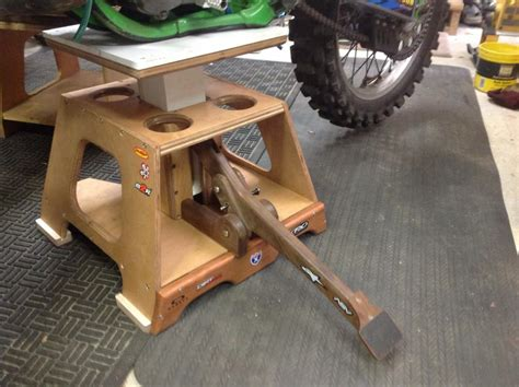 How To Make A Homemade Dirt Bike Stand