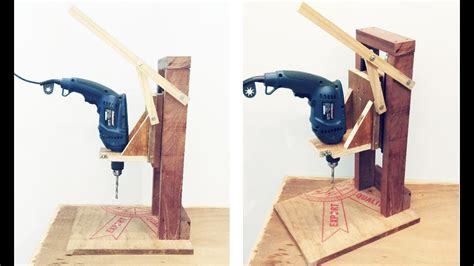 How To Make A Homemade Drill Press For Woodworking