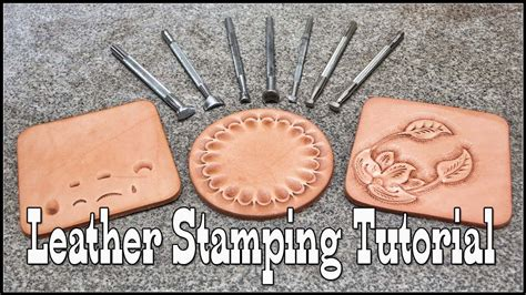 How To Make A Homemade Leather Stamping Tool