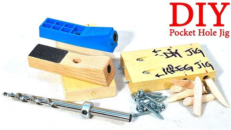 How To Make A Homemade Pocket Hole Jig