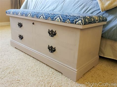 How To Make A Hope Chest Seat Cushion