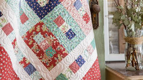 How To Make A Keyhole Quilt Block