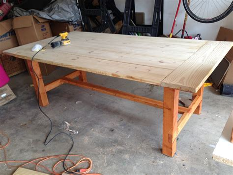 How To Make A Kitchen Table Out Of 2x4