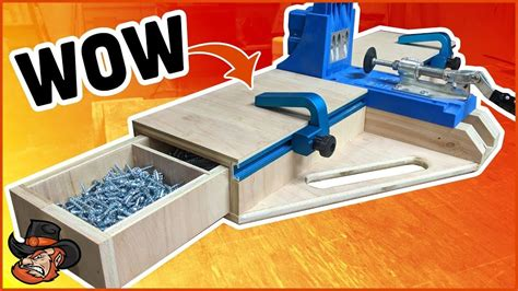 How To Make A Kreg Jig Station
