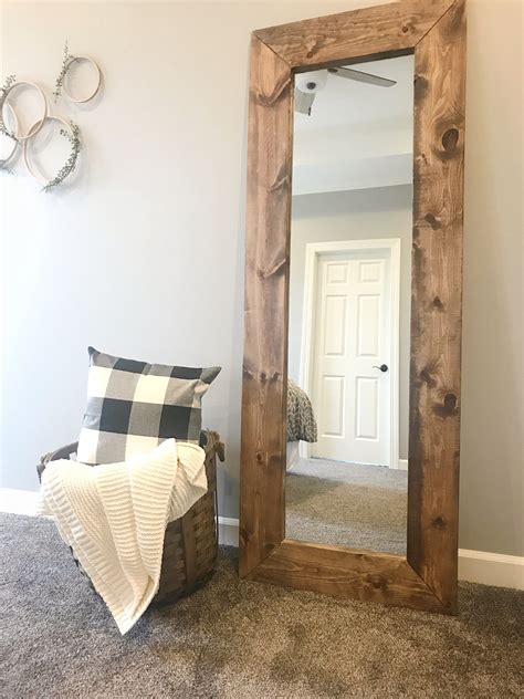 How To Make A Large Frame For A Mirror
