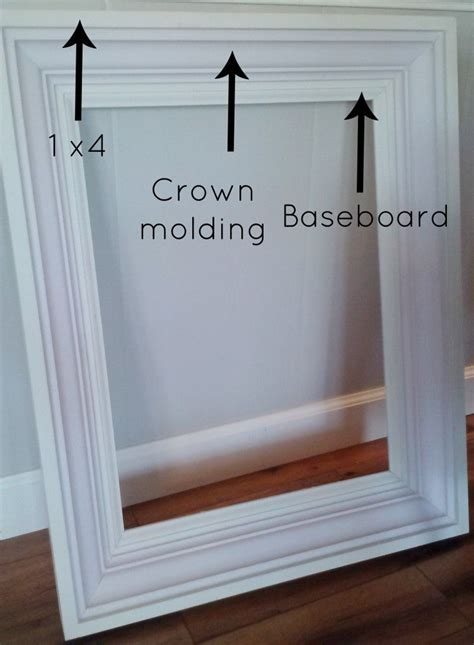 How To Make A Large Picture Frame With Moulding