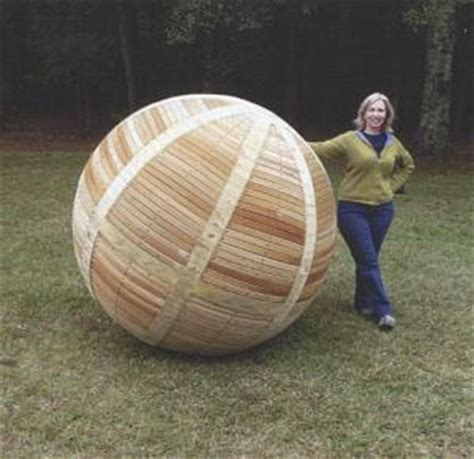 How To Make A Large Wooden Sphere