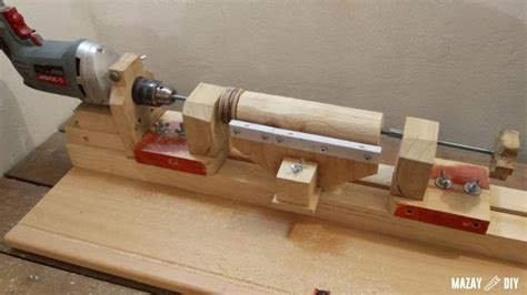 How To Make A Lathe Machine