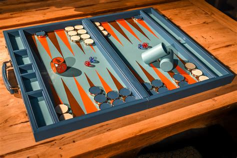 How To Make A Leather Backgammon Board