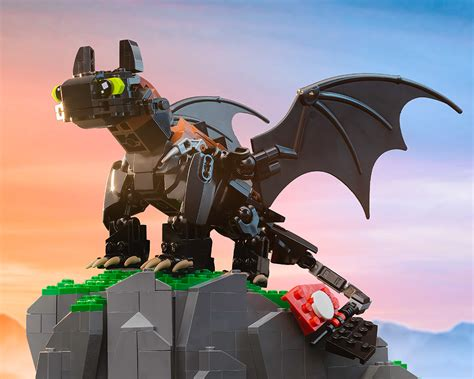 How To Make A Lego Dragon