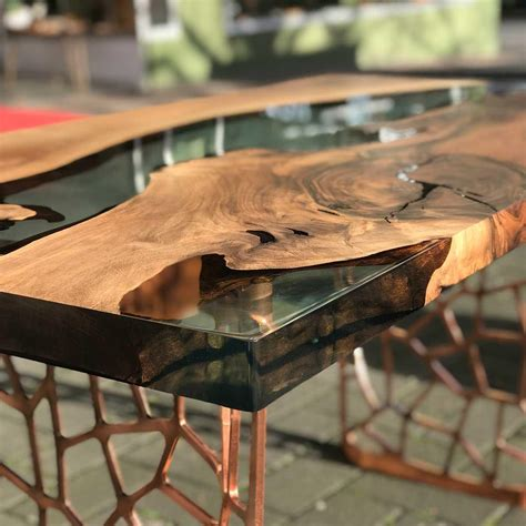 How To Make A Live Edge Table With Epoxy
