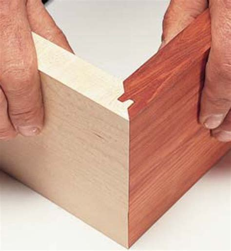 How To Make A Lock Miter Joint Instructions