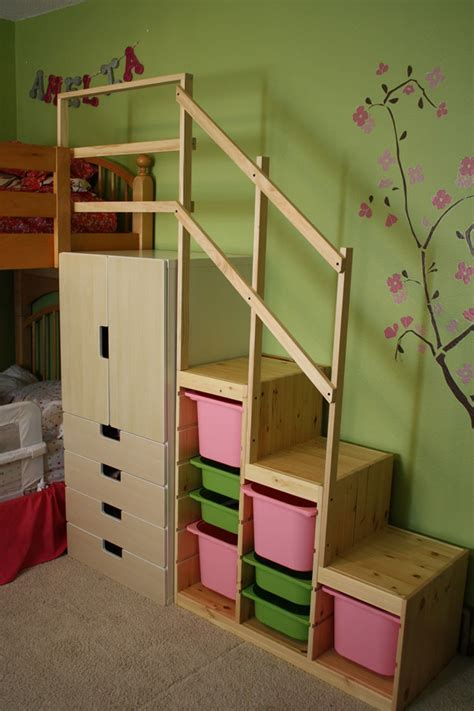 How To Make A Loft Bed With Stairs