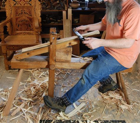 How To Make A Log Shave Horse