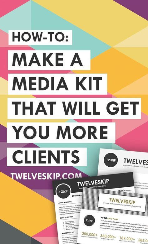 How To Make A Media Kit For A Magazine