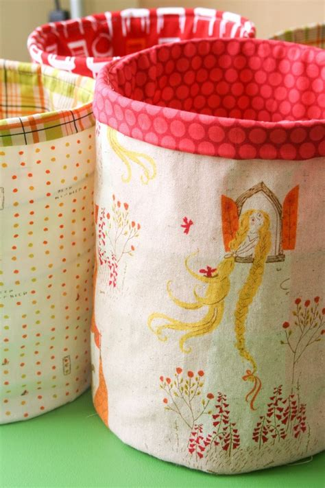 How To Make A Mini Fabric Storage Drawers
