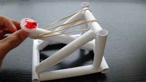 How To Make A Mini Trebuchet Out Of Household Items