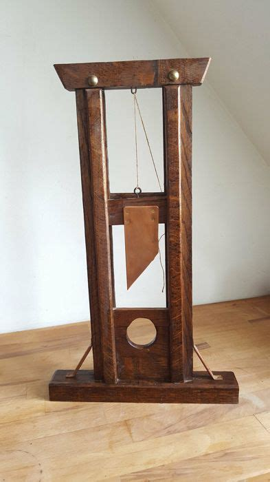 How To Make A Miniature Wooden Guillotine