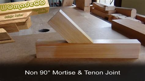 How To Make A Mortise In 4x6
