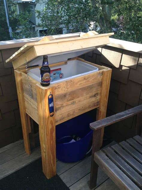 How To Make A Pallet Cooler