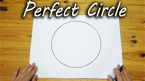 How To Make A Perfect Circle Freehand