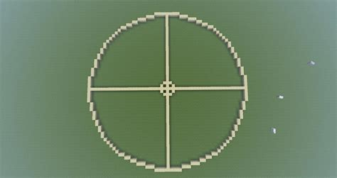 How To Make A Perfect Circle In Minecraft