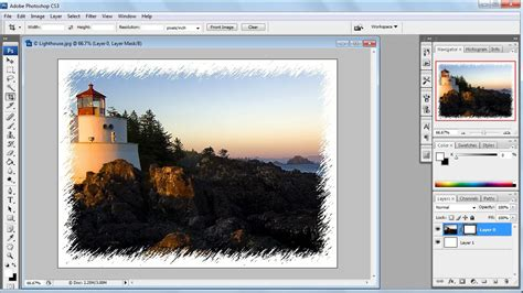 How To Make A Picture Frame In Photoshop