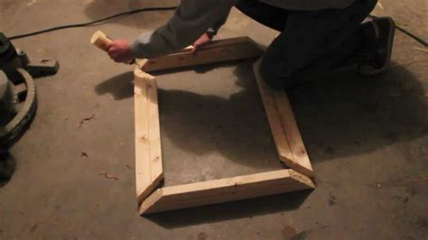 How To Make A Picture Frame Out Of Wood Youtube
