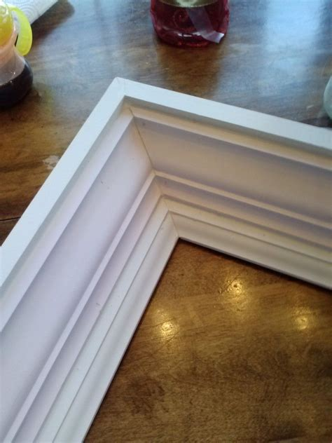 How To Make A Picture Frame Using Crown Molding
