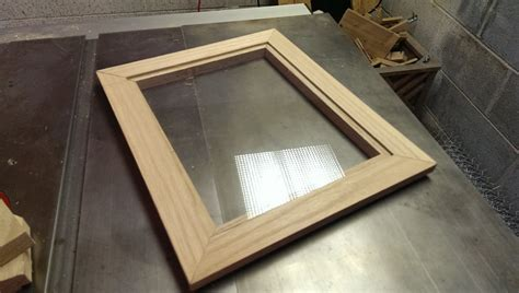 How To Make A Picture Frame With Glass