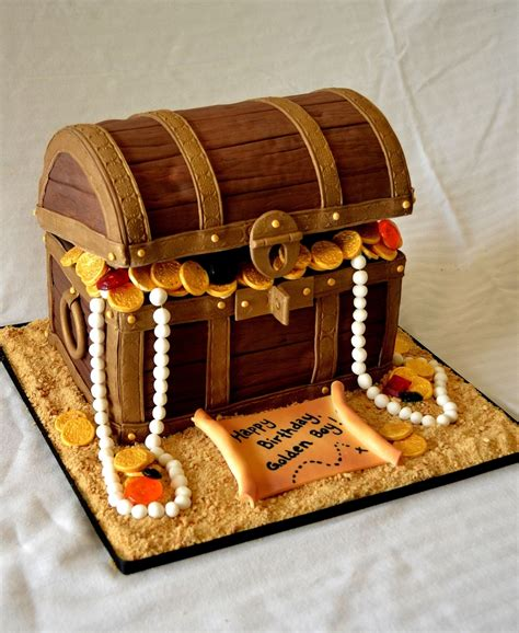 How To Make A Pirates Treasure Chest Cake