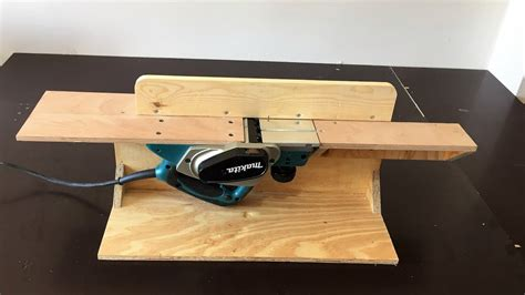 How To Make A Planer Into A Jointer
