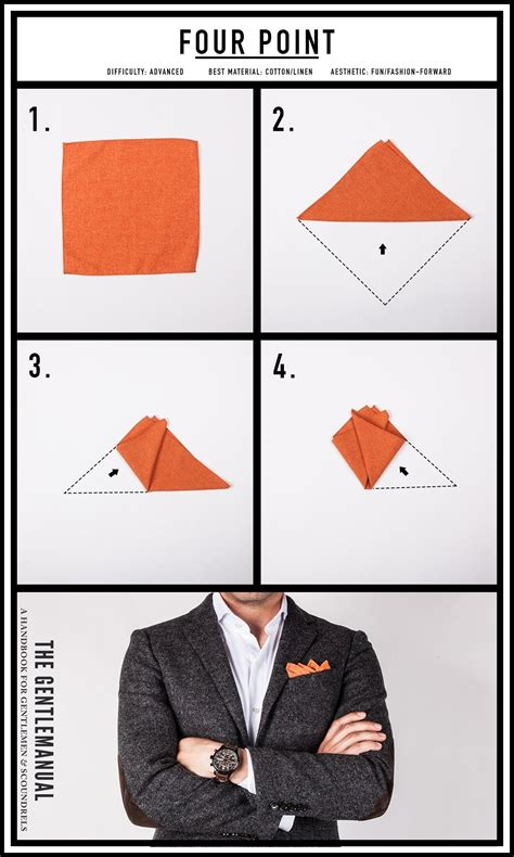 How To Make A Pocket Square For Men