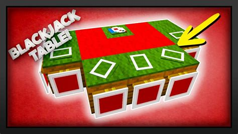 How To Make A Poker Table In Minecraft