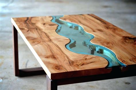 How To Make A Resin And Wood Coffee Table