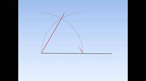 How To Make A Right Angled Triangle With A Compass
