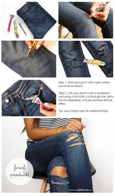 How To Make A Ripped Jeans