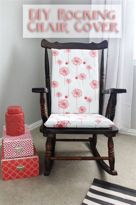 How To Make A Rocking Chair Slipcover Diy