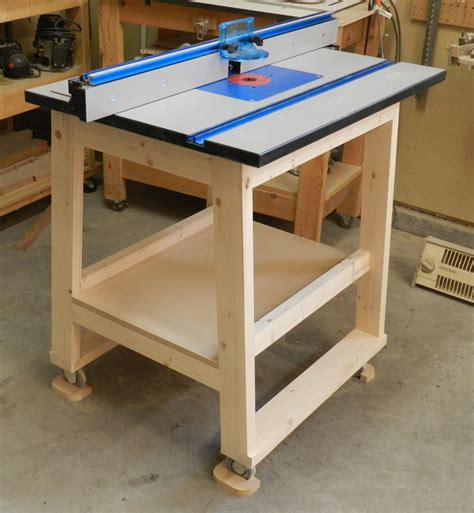 How To Make A Router Table Stand