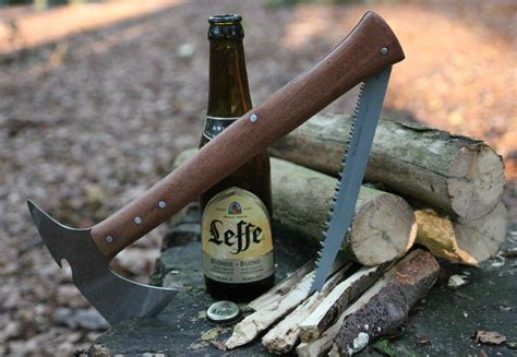 How To Make A Saw Blade Homahawk