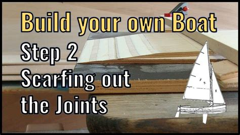 How To Make A Scarf Joint In Plywood Boat