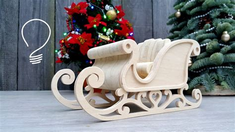How To Make A Scroll Saw Christmas Sleigh