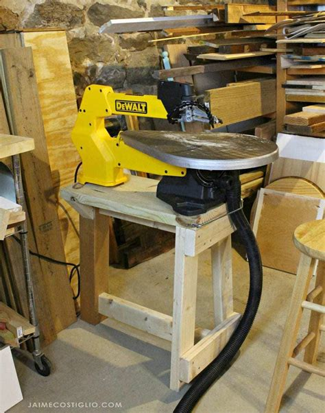 How To Make A Scroll Saw Stand